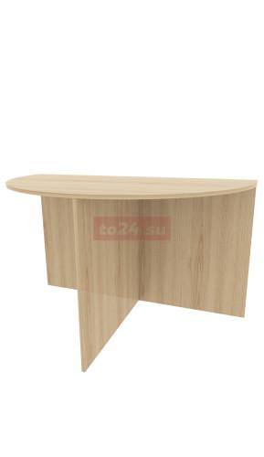 Стол офисный полукруглый из ЛДСП - модель 8