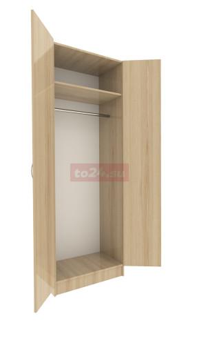 Шкаф закрытый с 2 дверцами — модель 16 фото 1