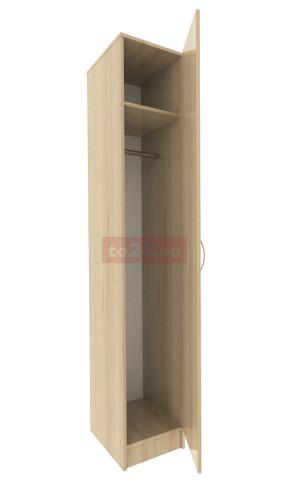 Шкаф закрытый с 1 дверцей — модель 17 фото 1