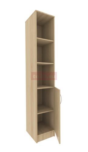 Шкаф с 3 открытыми и закрытым отсеком — модель 28 фото 1