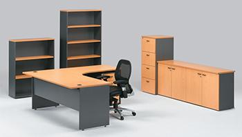 расстановка мебели в офисе фото